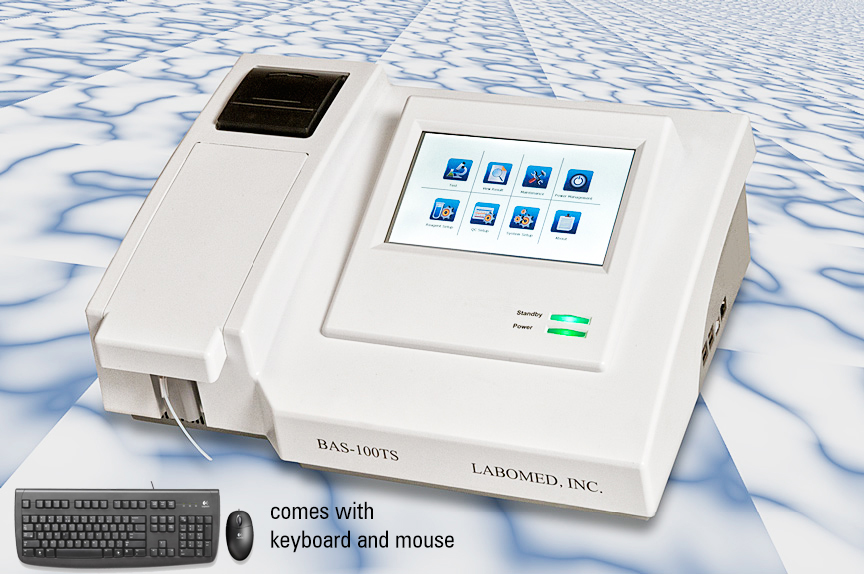 Analyzer BAS-100 TS – Semi-Automatic Clinical Chemistry Analyzer